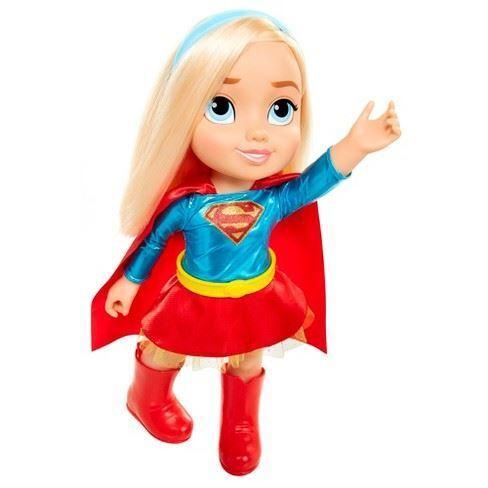 15'' Dc Super Hero Comics Supergirl Toddler Petite Doll Girls Girls Girls Toy e23688