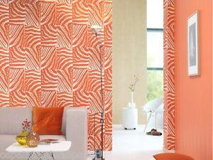 Aspect Mur Zebre Imprime Animalier Papier Peint A Coller Au Mur