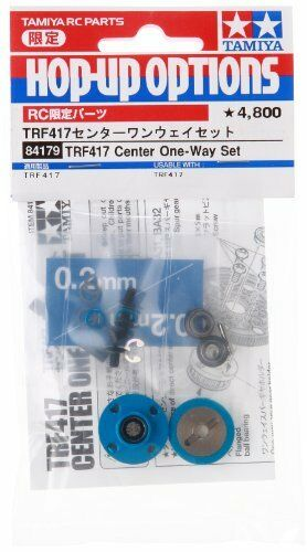 Tamiya RC limited series TRF417 center one-way set-84179