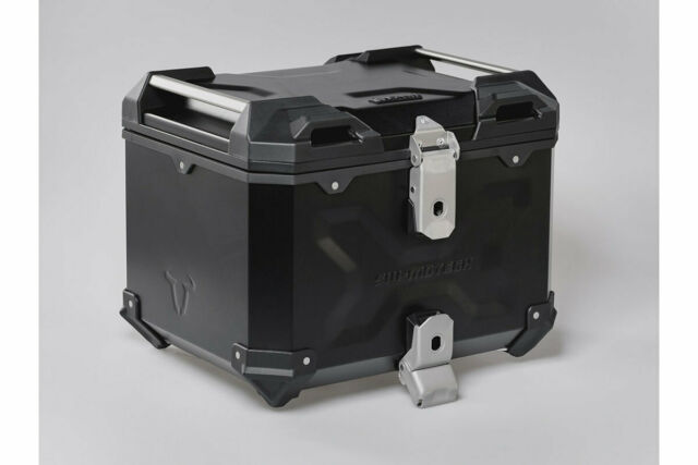 Sw-motech Trax Adv Motorcycle Top Case Black 38l Waterproof Aluminium Dust New