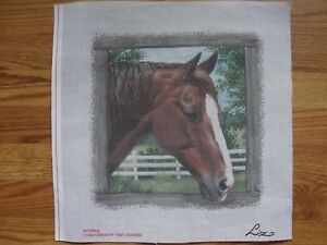 Image is loading Horse-Head-Barn-Door-Needlepoint-Canvas-Liz-Tapestry- : tapestry tent needlepoint - memphite.com