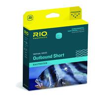 RIO TROPICAL OUTBOUND SHORT WF9I/S6 #9 WT INTERMEDIATE/ SINK TIP SALT FLY LINE