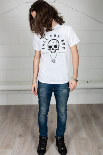 Official Fall Out Boy Headdress Skull Unisex T-Shirt Licensed Merch Pete Wentz