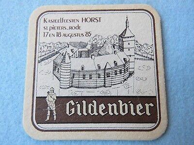 Sammeln & Seltenes Whisky Symbol Der Marke Belgische Bier Untersetzer ~ Brouwerij Haacht Gildenbier Dunkel Ale  1985 Eine VollstäNdige Palette Von Spezifikationen