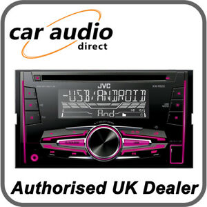 jvc kw r520 double din 50w x 4 cd mp3 usb rds radio stereo. Black Bedroom Furniture Sets. Home Design Ideas