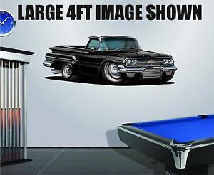1956 Chevy Belair 283 Wall Decal Graphic Mancave Art Sticker Garage tool box
