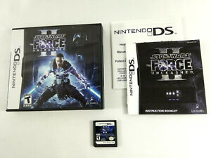 Jeu-Nintendo-DS-USA-Star-Wars-The-Force-Unleashed-II-avec-notice-Envoi-suivi