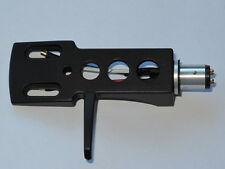 PLATO Giratorio Aleación Cabezal Negro + De Alta Calidad Phono Plomo, sin marca, Universal