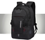 miniature 6 - New Mens Black Oxford School Backpack Satchel Laptop Casual Travel Bag 15""
