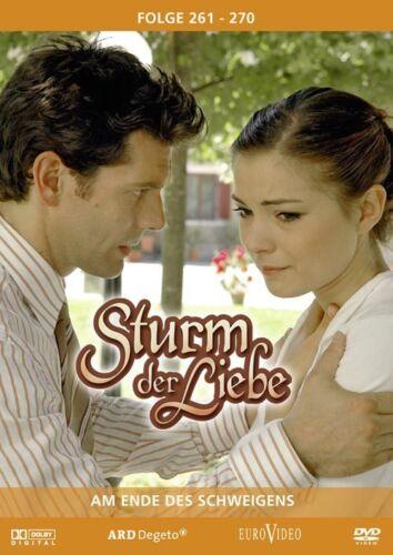 1 von 1 - Sturm der Liebe 27 ** Folge 261-270 ** Am Ende des Schweigens NEUWARE 3 DVD´s !!
