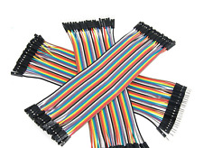 New Listing120 Pin 20cm Dupont Jumper Wires 40 Pin Male To Female Male For Raspberry Pi