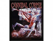 CANNIBAL CORPSE tomb bodies 2013 - WOVEN SEW ON PATCH official merchandise