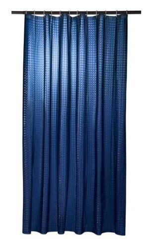 Anneaux Rideau de Douche 180 x 200 cm adapté pour tous les Douche sélection Incl