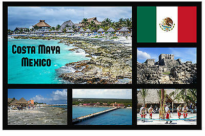 Costa Rica Fridge Magnet Souvenir Neu