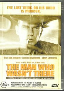 THE-MAN-WHO-WASN-039-T-THERE-DVD-R4-Billy-Bob-Thornton-LIKE-NEW-FREE-POST