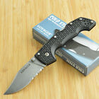 Cold Steel Medium Voyager Part Serrated Folding Knife 29TMCH