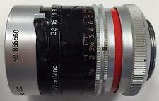 Kern Macro Switar 12.5mm 1.3 Movie Camera Lens 25mm Screw Mount (H8 RX/C mount)