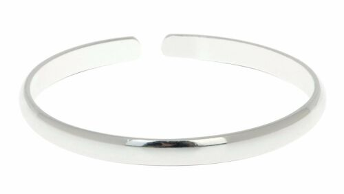 Sterling Silver Bangle Bracelet Made from Solid 925 Sterling Silver