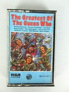 Vintage 1977 The Greatest Of The Guess Who Cassette Rock