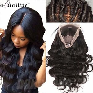 Silk Top Lace Front Full Lace Wigs 8A Brazilian Human Hair Wig for ... 95f90561b