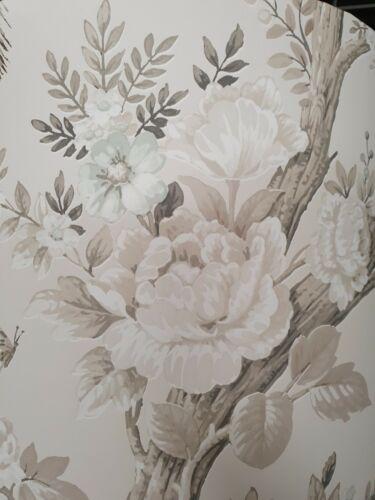 Abat-jour fait à la main au Royaume-Uni-Laura Ashley Belvedere Soft Truffe papier peint