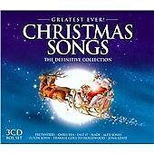 Greatest Ever! Christmas Songs NEW 3 x CD The Definitive Collection