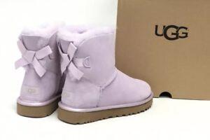 Mini Ii Fog Australia Bailey Metallic 1019032 Bow Lavender Details About Sheepskin Ugg Women's A3RjLSc4q5