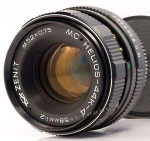Helios-44K-4-MC-lens-58mm-f2-USSR-biotar-planar-dSLR-Pentax-mount-KMZ-Russian