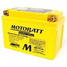 MOTOBATT  AGM MOTORCYCLE BATTERY FOR YAMAHA  FZ1 , FAZER  MBTZ14S