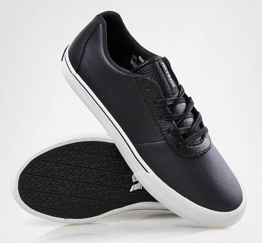 Supra Herren Schmied niedrige Schuhe schwarz/weiß s09010 SZ 9