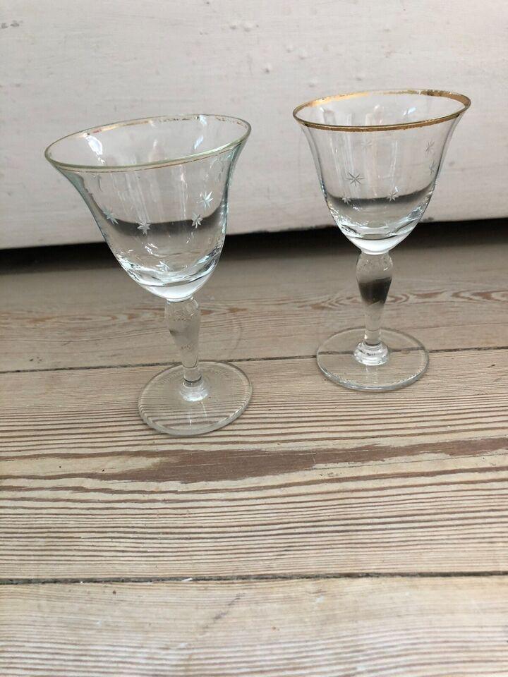 Glas, Hedvin/portvinsglas , Nordlys