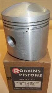 1956-1959-Matchless-G80CS-500cc-NOS-86mm-100-034-bore-Robbins-bare-piston-ONLY-33