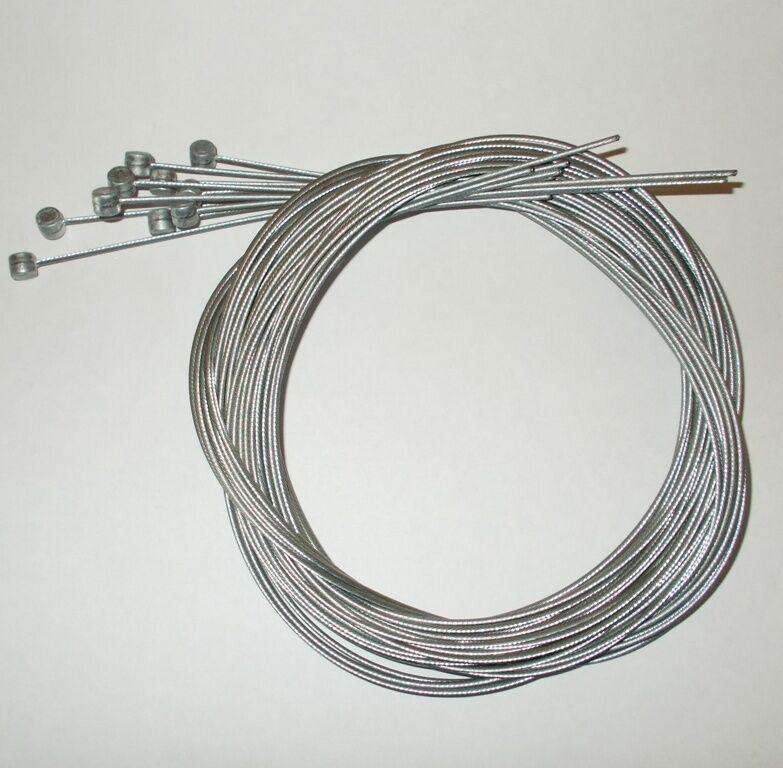 Lot 100 cables de frein  vélo VTT 15 10éme 1m80 neuf