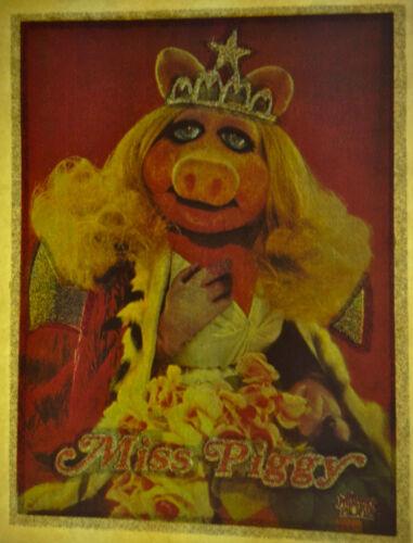 muppets miss piggy licensed 80s vintage retro tshirt print, NOS