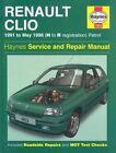 Renault Clio Petrol Service and Repair Manual by Matthew Minter, Steve Rendle (Hardback, 1995)