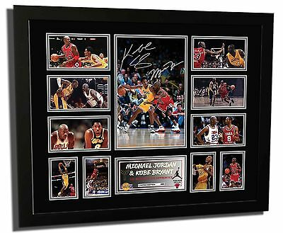 New Michael Jordan Signed Chicago Bulls Limited Edition Memorabilia Framed