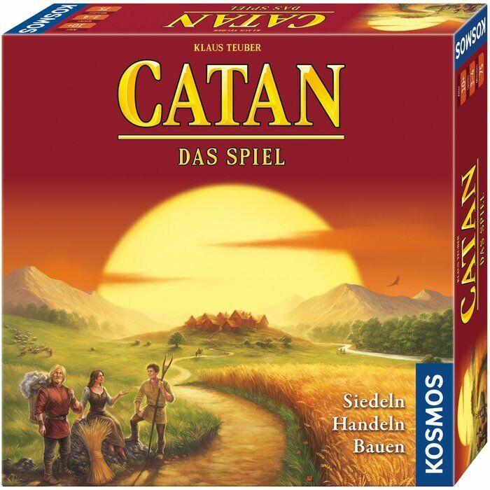 Catane-Le jeu (jeu) Cosmos 69301 neu&ovp