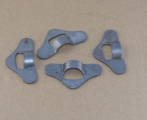 4x Anhaker für Haubenhalter Haubenzug aus Metall bei Traktor Schlepper o LKW