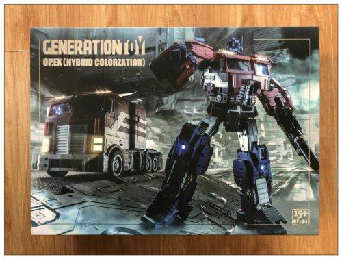 Generation Toy GT-03 IDW Optimus Prime O P EX Transformers action figure New
