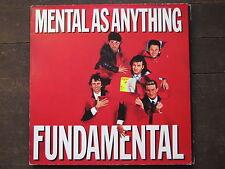 "LP - MENTAL AS ANYTHING - FUNDAMENTAL ""TOPZUSTAND!"""