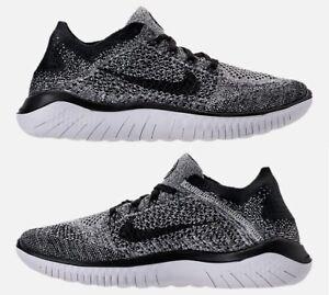 Nike Free Bianco Scatola In Running Flyknit Rn Originale Nero 2018 Nuove Uomo PrrqT0Uwd