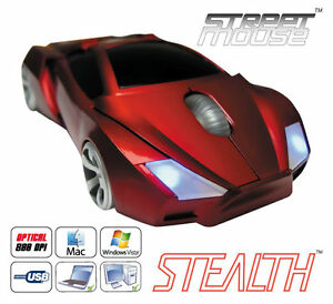 Car Mouse Novelty Stealth RED PC Street Mouse  Computer Mice - <span itemprop=availableAtOrFrom>Tarporley, United Kingdom</span> - Car Mouse Novelty Stealth RED PC Street Mouse  Computer Mice - Tarporley, United Kingdom
