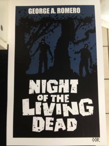 """Night of the Living Dead 24/""""x36/"""" movie poster print"""
