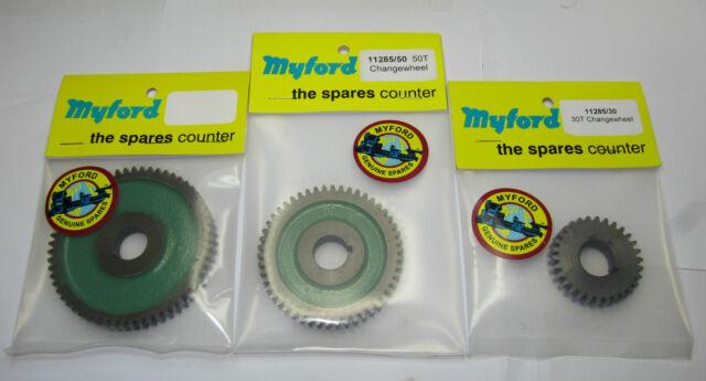 Neu original Myford wechsel getriebe 20 - 70 zahn größen gang direct von ltd