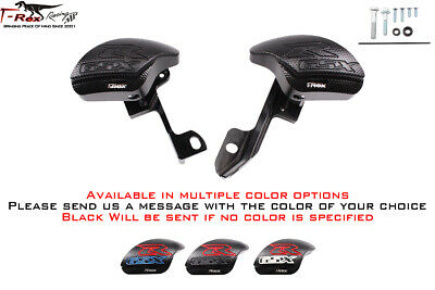 T-Rex Racing No Cut Frame Sliders for Suzuki 2016-2020 GSX-S1000 Black
