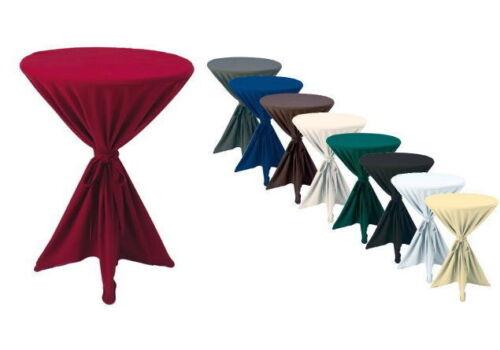 Premium Gastro Stehtisch Husse Tischhusse Bistrotisch Tisch Überwurf Tischdecke