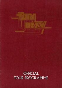 THIN-LIZZY-1976-JOHNNY-THE-FOX-UK-TOUR-CONCERT-PROGRAM-BOOK-BOOKLET-EX-2-NMT