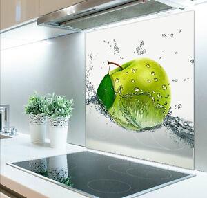 60cm x 60cm Digital Print Glass Splashback Heat Resistant  Toughened 402