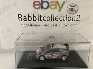 DIE-CAST-034-FORD-FIESTA-RS-WRC-RMC-2015-ROBERT-KUBICA-034-DIECAST-CLUB-SCALA-1-43