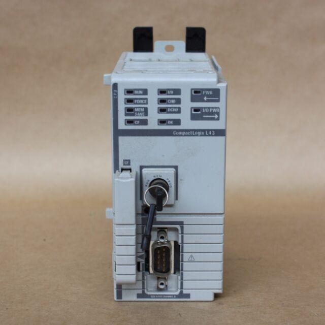 ALLEN BRADLEY COMPACTLOGIX 5331 PROCESSOR PLC SERIES A -- 1769-L31